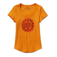 Women's Sun Rose Cotton Scoop T-Shirt
