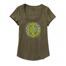 Women's Sun Rose Cotton Scoop T-Shirt by Patagonia