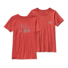 Women's Surf Van Cotton Crew T-Shirt by Patagonia
