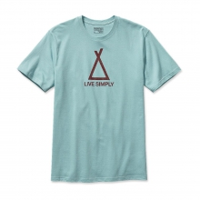 Men's Live Simply Tent Life Cotton T-Shirt in Kirkwood, MO