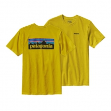 Men's P-6 Logo Cotton T-Shirt by Patagonia in Virginia Beach Va
