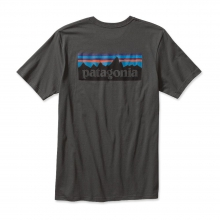 Men's P-6 Logo Cotton T-Shirt by Patagonia in Solana Beach Ca