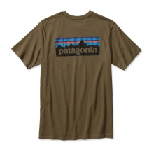 Men's P-6 Logo Cotton T-Shirt by Patagonia in Boulder Co