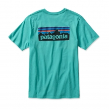 Men's P-6 Logo Cotton T-Shirt by Patagonia in Anderson Sc
