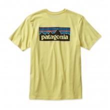 Men's P-6 Logo Cotton T-Shirt by Patagonia in Troy Oh