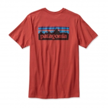 Men's P-6 Logo Cotton T-Shirt by Patagonia in Milwaukee WI
