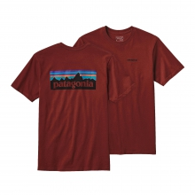Men's P-6 Logo Cotton T-Shirt by Patagonia in Birmingham Al