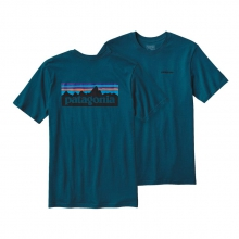 Men's P-6 Logo Cotton T-Shirt by Patagonia in Pocatello Id