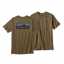 Men's P-6 Logo Cotton T-Shirt by Patagonia in Clinton Township Mi