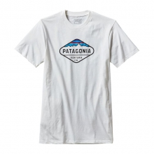 Men's Fitz Roy Crest Cotton/Poly T-Shirt by Patagonia in Casper Wy