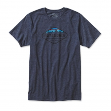 Men's Fitz Roy Crest Cotton/Poly T-Shirt by Patagonia in Columbus Oh