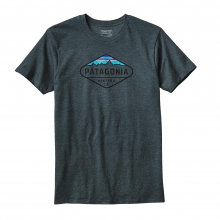 Men's Fitz Roy Crest Cotton/Poly T-Shirt by Patagonia in Ellicottville Ny