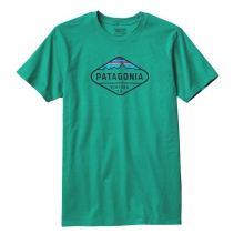 Men's Fitz Roy Crest Cotton/Poly T-Shirt by Patagonia in Granville Oh