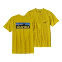 Men's P-6 Logo Cotton Pocket T-Shirt by Patagonia in Virginia Beach Va
