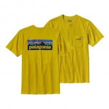Men's P-6 Logo Cotton Pocket T-Shirt by Patagonia in Tampa Fl