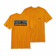 Men's P-6 Logo Cotton Pocket T-Shirt by Patagonia in Dawsonville GA