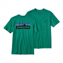 Men's P-6 Logo Cotton Pocket T-Shirt by Patagonia in Baton Rouge La