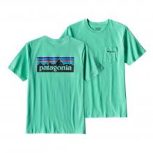 Men's P-6 Logo Cotton Pocket T-Shirt by Patagonia in Flagstaff Az