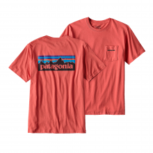 Men's P-6 Logo Cotton Pocket T-Shirt by Patagonia in Kansas City Mo