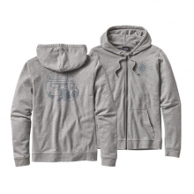 Men's Surf Van Lightweight Full-Zip Hooded Sweatshirt by Patagonia