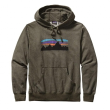 Men's Fitz Roy Banner Lightweight Pullover Hooded Sweatshirt by Patagonia
