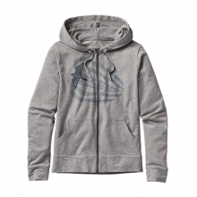 Women's Soaring Peregrine Lightweight Full-Zip Hooded Sweatshirt by Patagonia