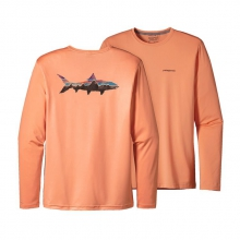 Men's Graphic Tech Fish Tee by Patagonia in Bluffton Sc