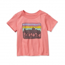 Baby Fitz Roy Skies Cotton T-Shirt