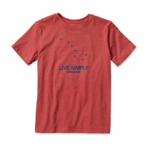 Boys' Live Simply Dipper Cotton/Poly T-shirt