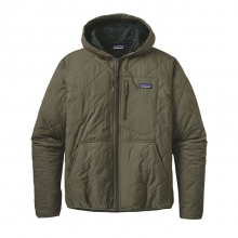Men's Diamond Quilted Bomber Hoody by Patagonia
