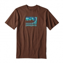 Men's Framed Fitz Roy Cotton/Poly Responsibili-Tee by Patagonia
