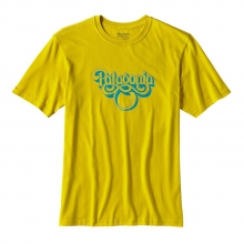Men's Groovy Type Cotton T-Shirt