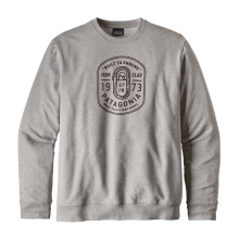Men's Ironmongers Badge MW Crew Sweatshirt by Patagonia