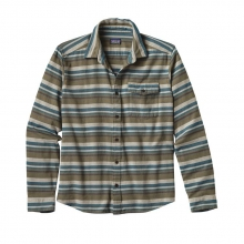 Men's L/S Lightweight Fjord Flannel Shirt by Patagonia in Meridian Id