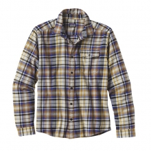 Men's L/S Lightweight Fjord Flannel Shirt by Patagonia in Peninsula Oh
