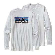 Men's L/S P-6 Logo Cotton T-Shirt