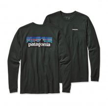 Men's L/S P-6 Logo Cotton T-Shirt by Patagonia in State College Pa