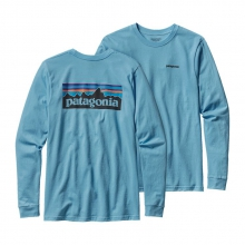 Men's L/S P-6 Logo Cotton T-Shirt by Patagonia in Jackson Tn