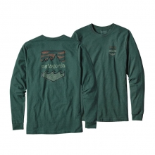 Men's L/S  Badge Cotton/Poly Responsibili-Tee by Patagonia in Tarzana Ca