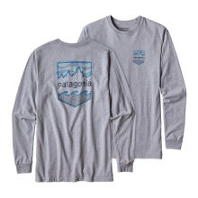 Men's L/S  Badge Cotton/Poly Responsibili-Tee by Patagonia