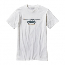 Men's Live Simply Glider Cotton/Poly T-Shirt by Patagonia in Wakefield Ri