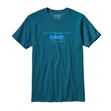 Men's Live Simply Glider Cotton/Poly T-Shirt by Patagonia