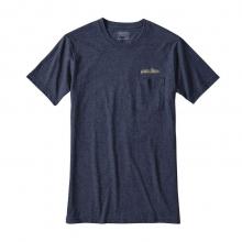 Men's Nightfall Fitz Roy Cotton/Poly Pocket T-Shirt by Patagonia