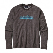 Men's Nightfall Fitz Roy Lightweight Crew Sweatshirt by Patagonia in Wakefield Ri