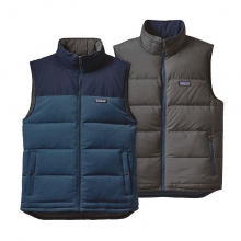 Men's Reversible Bivy Down Vest by Patagonia in Charlotte Nc