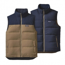 Men's Reversible Bivy Down Vest by Patagonia in Asheville Nc