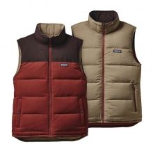 Men's Reversible Bivy Down Vest by Patagonia in Casper Wy