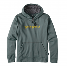 Men's Text Logo PolyCycle Hoody