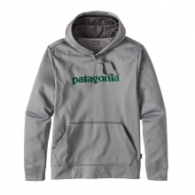 Men's Text Logo PolyCycle Hoody by Patagonia