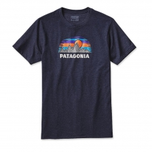 Men's Woven Fitz Roy Cotton/Poly T-Shirt by Patagonia in Prescott Az